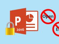 lock powerpoint presentation