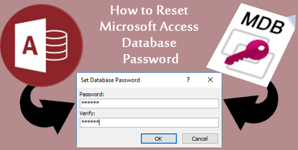 reset access database password