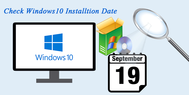 check windows installation date