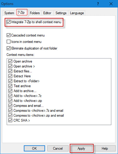 How to Fix 7-Zip Missing from Right Click Menu in Windows 10 | iSumsoft