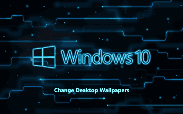 How To Change Windows 10 Desktop Wallpaper Without Activation