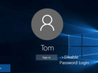 Disable password login
