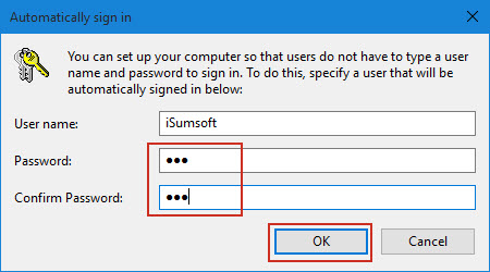 how to change windows 10 start up pass word