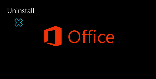Uninstall Office program