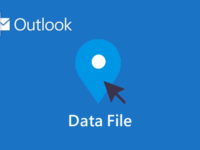 Change Outlook data file location
