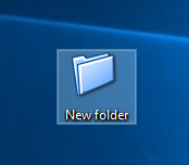 Folder icon is changed