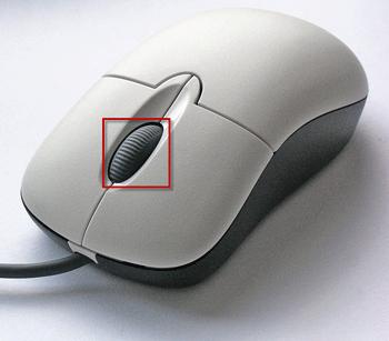 croll mouse wheel