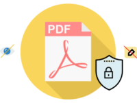 Password protect PDF document