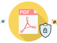 Password protect PDF document
