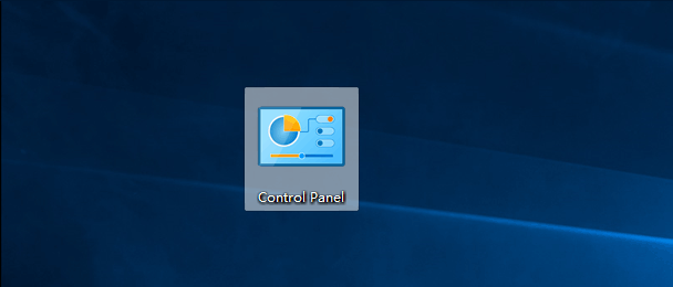 Add Control Panel to Desktop and Start Menu in Windows 10