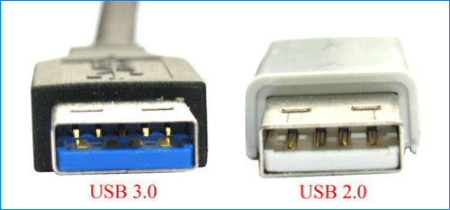 check usb version by color