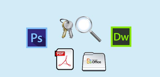 найти ключи программного продукта