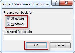 Проверить структуру и параметр Windows