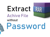 Extract RAR Archive File