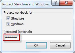 password is optional