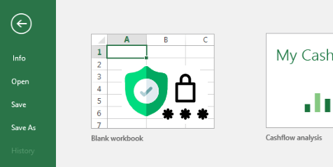Protect Excel Workbook