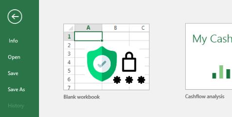 Proteger el libro de Excel