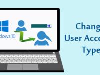 change user account type