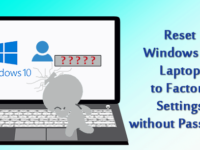 reset Windows 10 laptop to factory settings