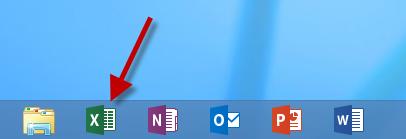 Start Excel app
