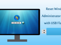 reset Windows 7 admin password with USB