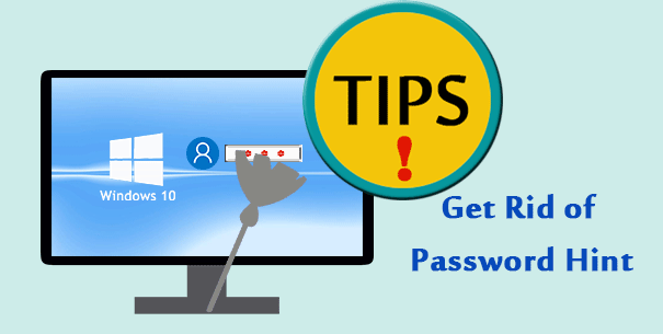 get rid of password hint