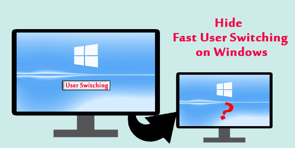 hide fast user switching