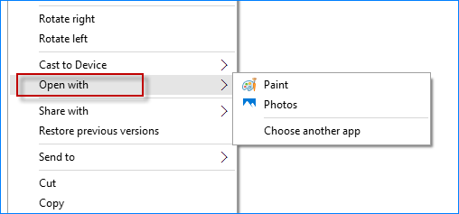 windows photo viewer does not appear