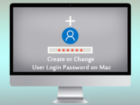 create/change user login password