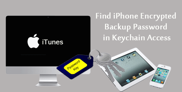 find iPhone encrypted backup password