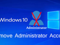 remove administrator account