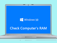 check your computer ram
