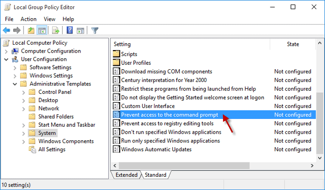 2 Methods to Disable the Command Prompt in Windows 10 – iSumsoft