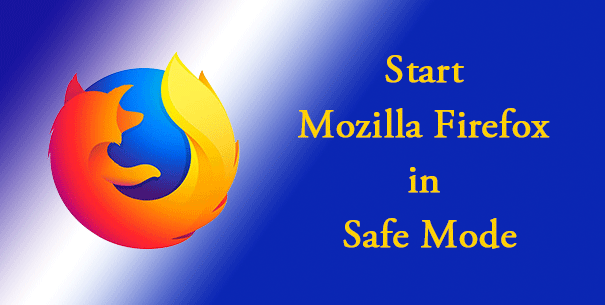 Safe Mode in Firefox