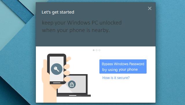 Keep Windows PC unlocked via Android phone