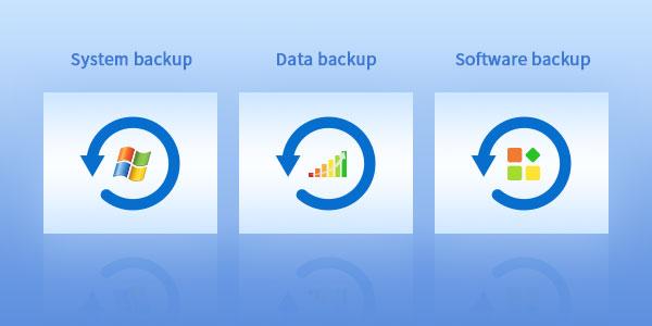 backup data and software