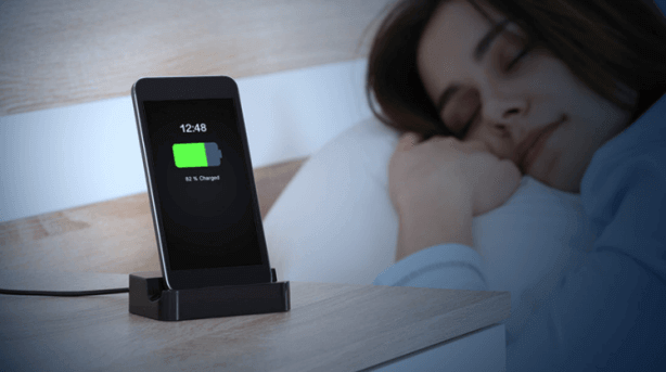 charging overnight