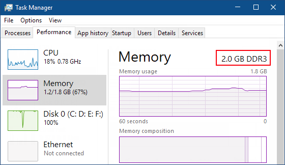 how many memory