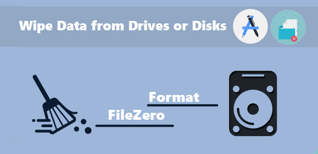 Wipe data from disks