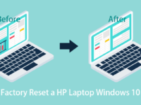 reset your HP laptop Windows 10 to factory settings