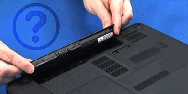 tear down laptop battery