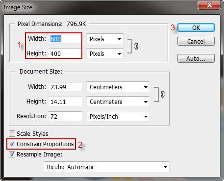 adjust image pixel