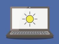 Change Windows PC screen brightness