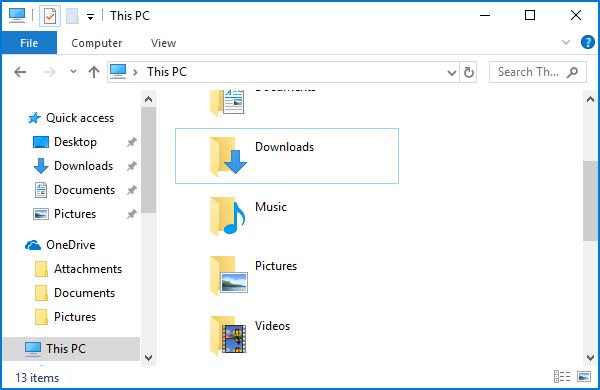 Delete Personal files