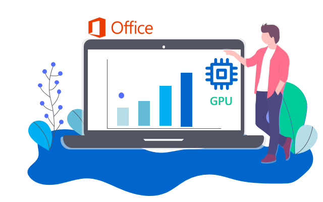 Hardware acceleration in Office