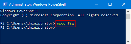 launch widnows powershell window