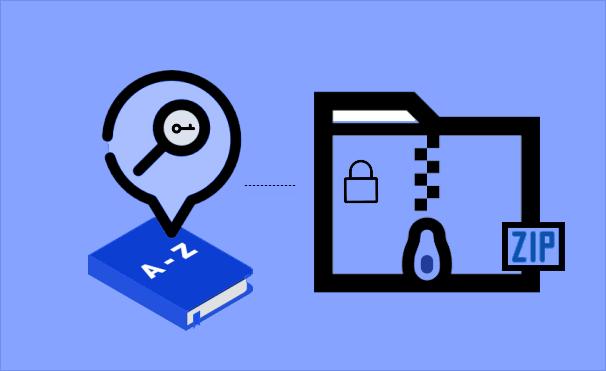 Recover zip password via dictionary