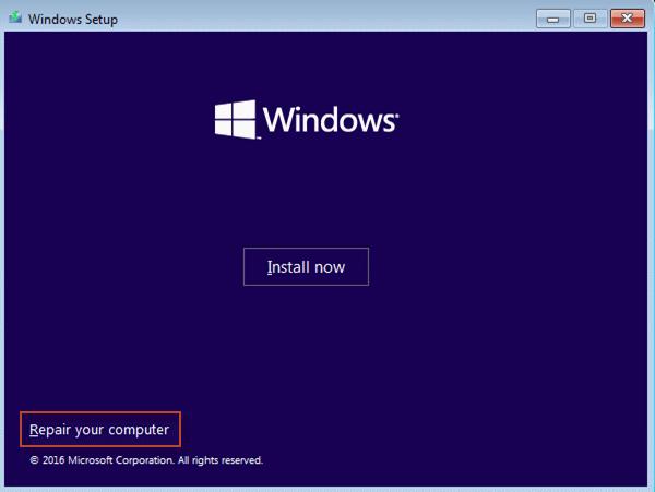 Repair you computer