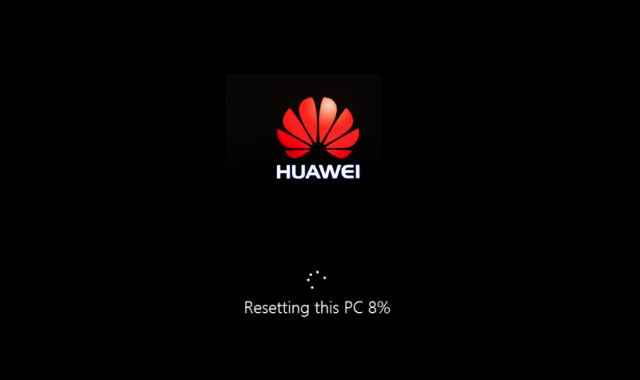 How to Reset Huawei MateBook X Pro to Factory Settings | iSumsoft