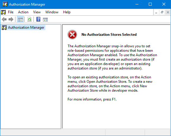 access authorization manager tool